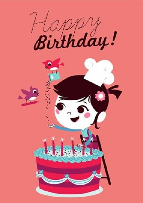 birthday images for baby girls
