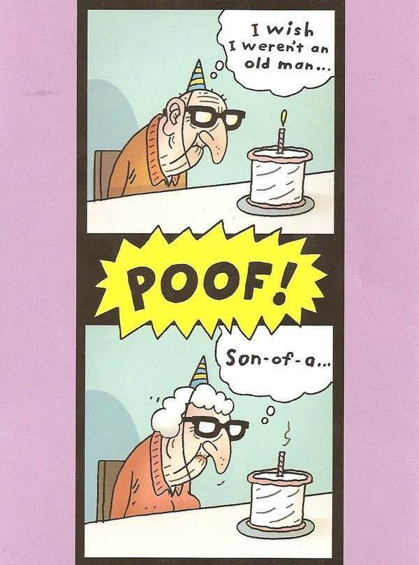 I Wish Werent An Old Man Funny Birthday