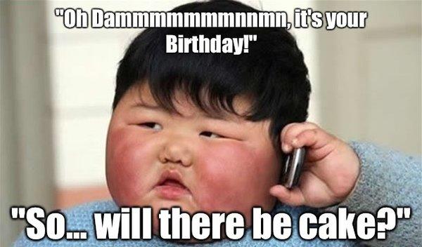 funny meme birthday pictures