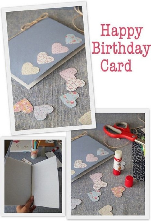 how to make handmade birthday cards step by step 32 handmade birthday card ideas and images 8876