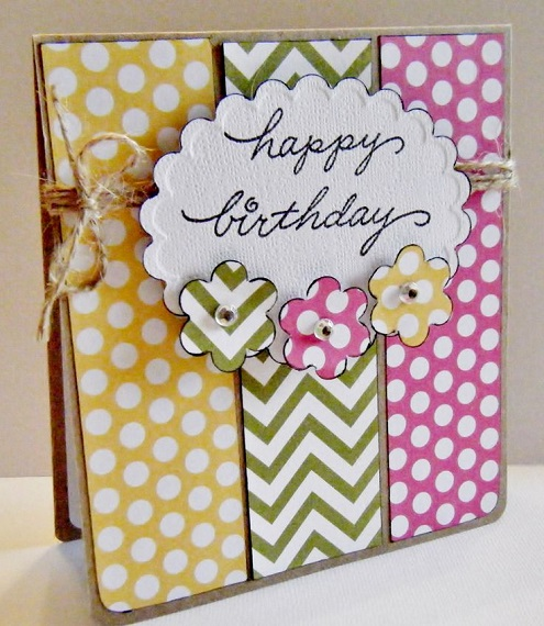 32 Handmade Birthday Card Ideas and Images – Card Making Birthday Card Ideas