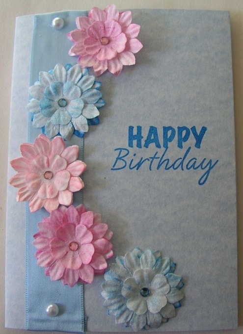 Handcrafted diy birthday card ideas for girlfriends