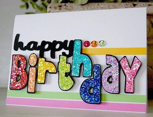 32 Handmade Birthday Card Ideas and Images – Handmade Happy Birthday Cards