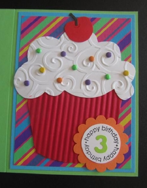 32 Handmade Birthday Card Ideas and Images – Handmade Cards Ideas Birthday