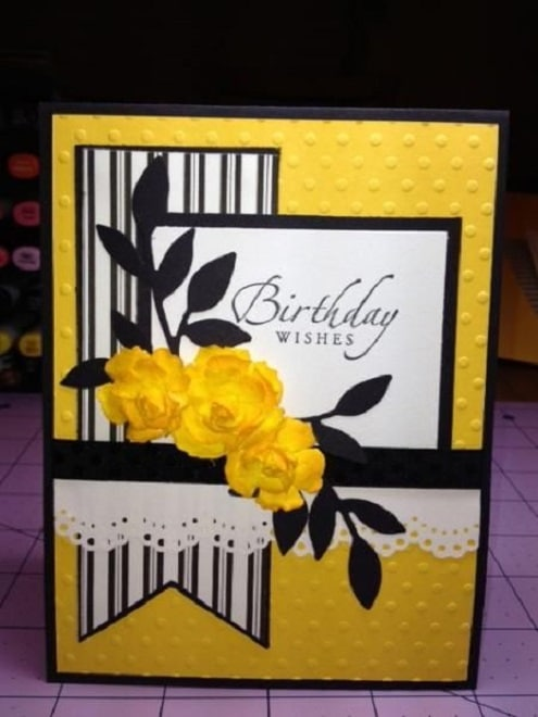 32 Handmade Birthday Card Ideas and Images – Simple Handmade Birthday Cards