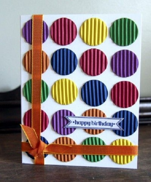 32 Handmade Birthday Card Ideas and Images – Easy Handmade Birthday Card Ideas