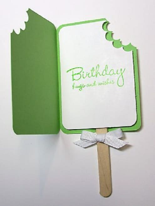 Cool 32 Handmade Birthday Card Ideas And Images Personalised Birthday Cards Rectzonderlifede