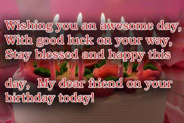 52 best birthday wishes for friend with images awesome birthday wishes for friend m4hsunfo