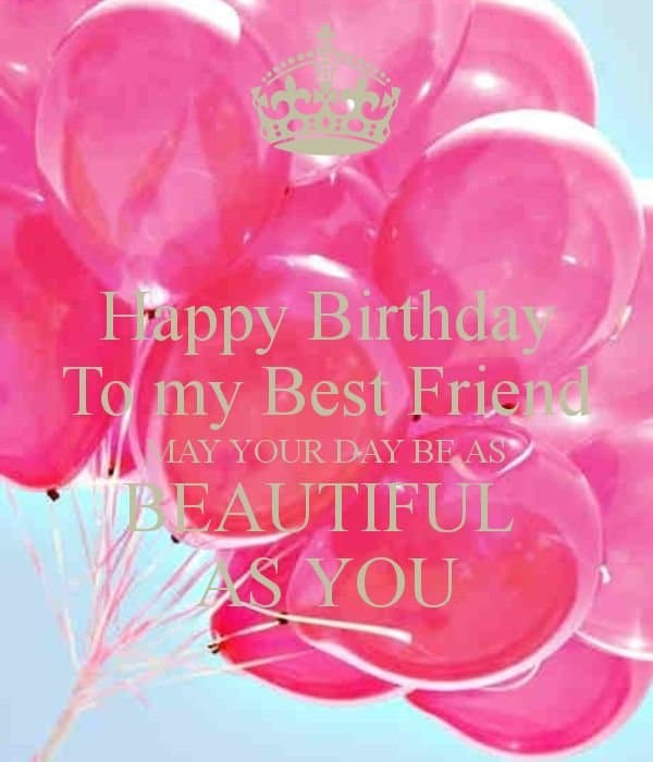 Birthday Wishes For Best Friend Quotes Tumblr: 50 Best Birthday Wishes For Friend With Images