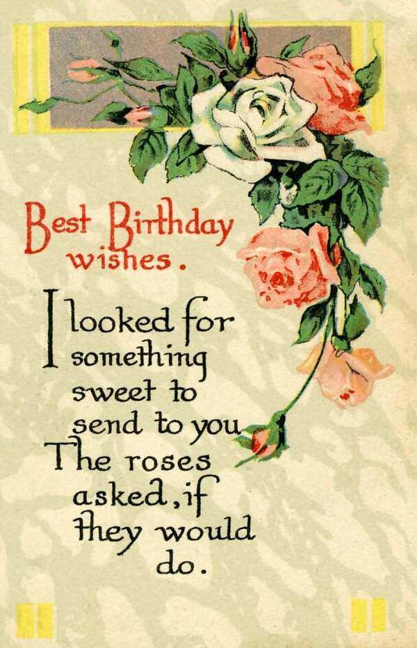 52 Best Birthday Wishes for Friend with Images – Best Friend Birthday Card