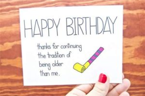 comiic birthday thank you quotes for sister