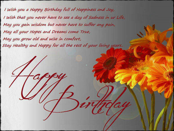 52 best birthday wishes for friend with images i wish you a happy birthday full of happiness and joy m4hsunfo