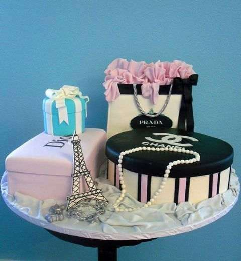For Your Little Fashionista Birthday Cake Pictures