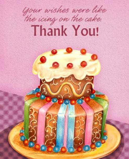 sweet birthday thank you quotes