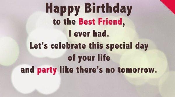 50 best birthday wishes for friend with images 2018 unique birthday wishes for best friend m4hsunfo