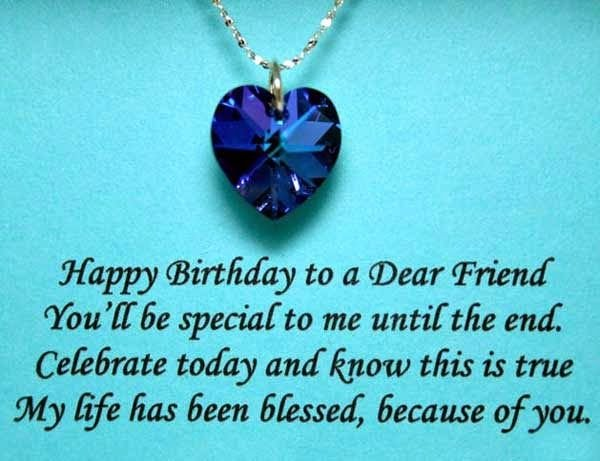very special birthday wishes for friend