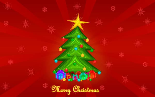 bright merry christmas images to draw