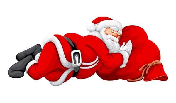 christmas images to draw santa