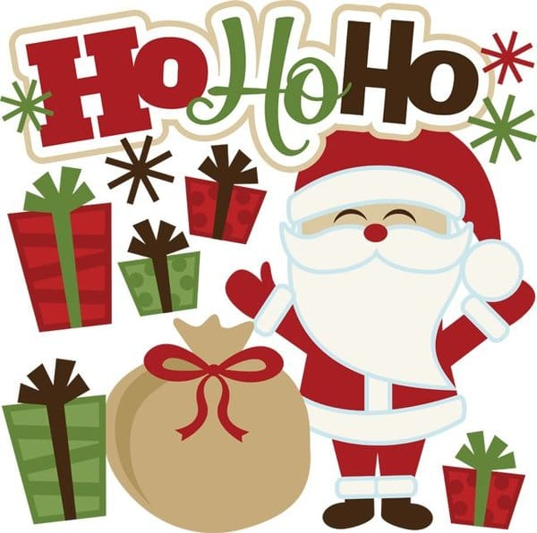 cute merry christmas images to draw for kids
