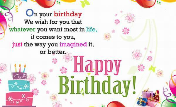 100 Happy Birthday Wishes to Send – Wish Birthday Card