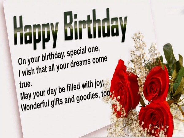 100 Happy Birthday Wishes to Send – Special Birthday Greeting