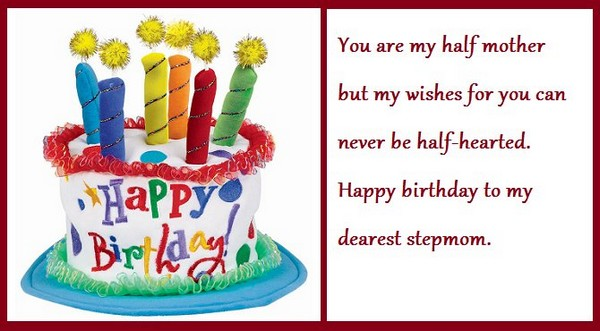 Happy Birthday Wishes for Stepmother