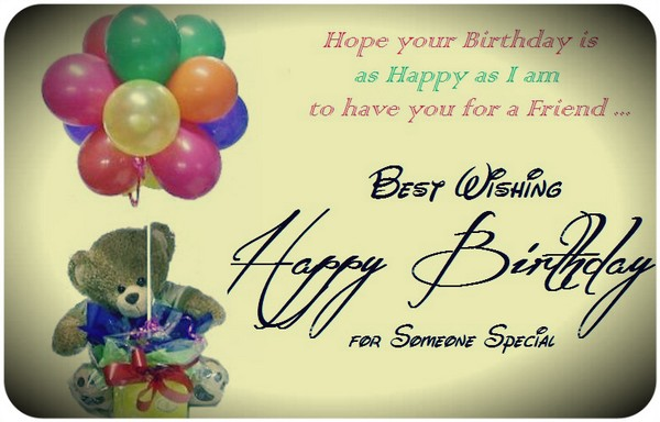 Happy Birthday Wishes To Send