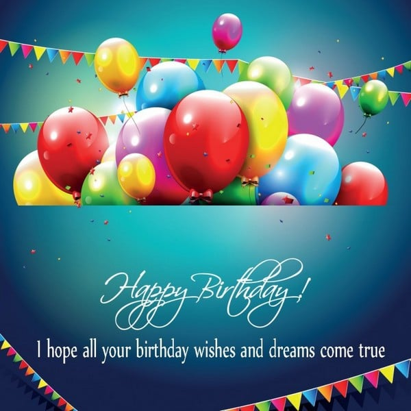 100 Happy Birthday Wishes to Send – Happy Birthday Card Message