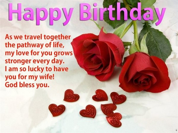 100 Happy Birthday Wishes to Send – Happy Birthday Greeting for Wife