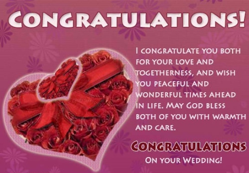 Funny Wedding Wishes 1