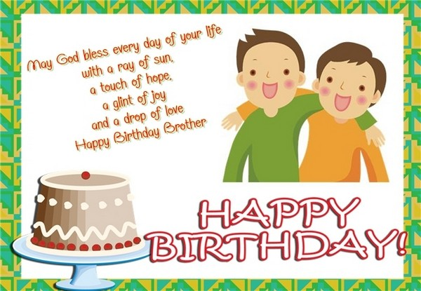 happy birthday for a brother