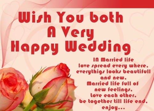 Happy Married Life Wishes Images