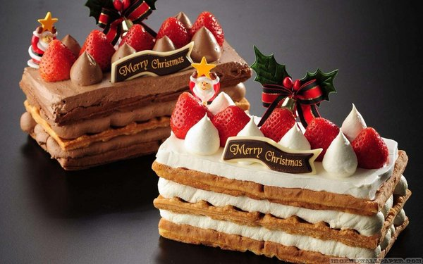 merry christmas images cake
