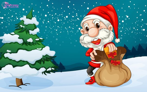 merry christmas picture to draw for kids