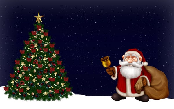 merry christmas picture to draw tree
