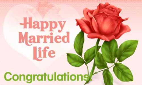Image Result For Happy Married Life Wishes For Lover
