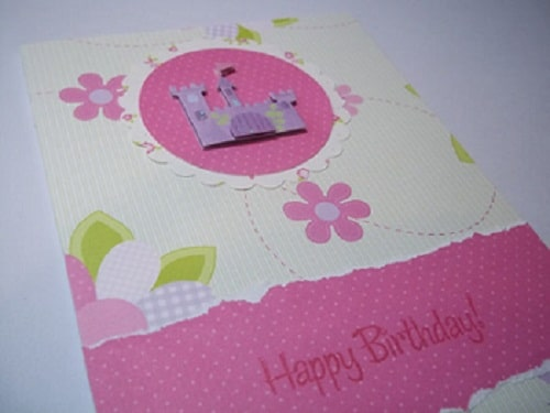 Castle Handmade Greeting Cards