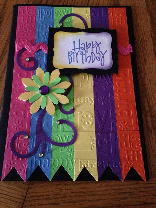 most beautiful handmade greeting cards from etsy, Birthday card