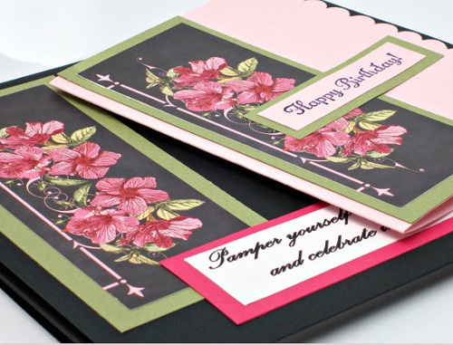 Pamper Yourself Handmade Greeting Cards