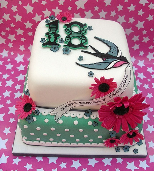 18th Birthday Cake Images