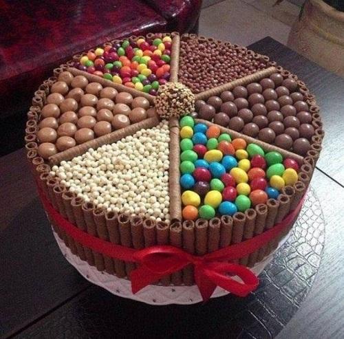 Chocolate Birthday Cake Images
