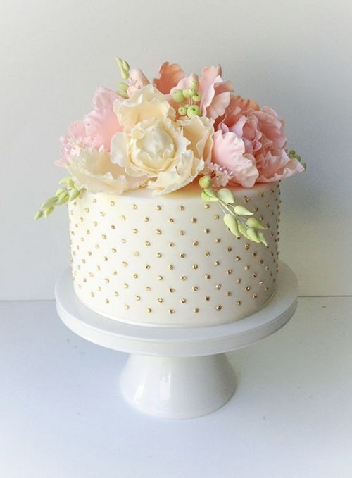 most beautiful birthday cake images for inspiration  my happy, Beautiful flower