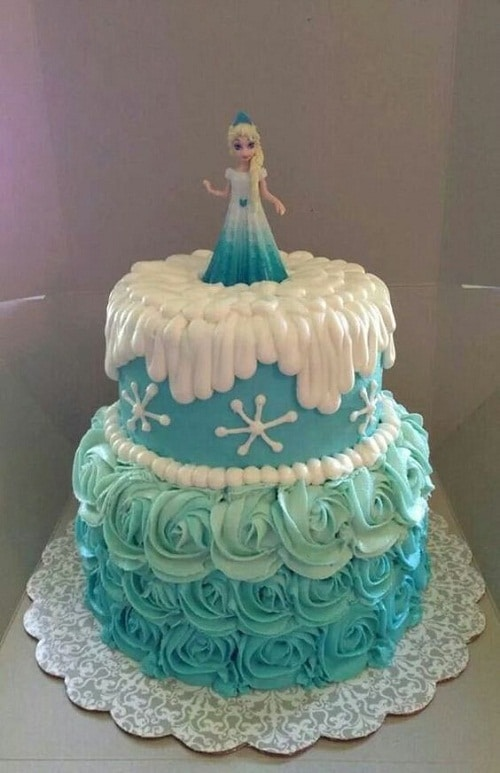Gallery For gt Frozen Birthday Cake