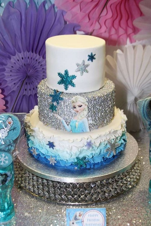 Decorating Ideas > Frozen Cakes Related Keywords & Suggestions  Frozen Cakes  ~ 140939_Elsa Cake Decoration Ideas