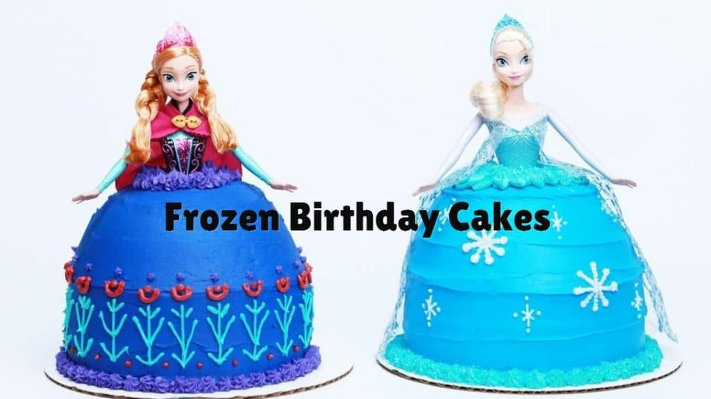 Frozen Anna Birthday Cake