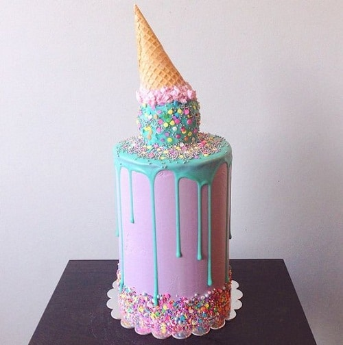 Cake Ice Cream On Top : 31 Most Beautiful Birthday Cake Images for Inspiration ...