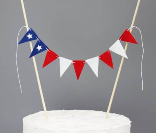 Independence Day Cake Toppers