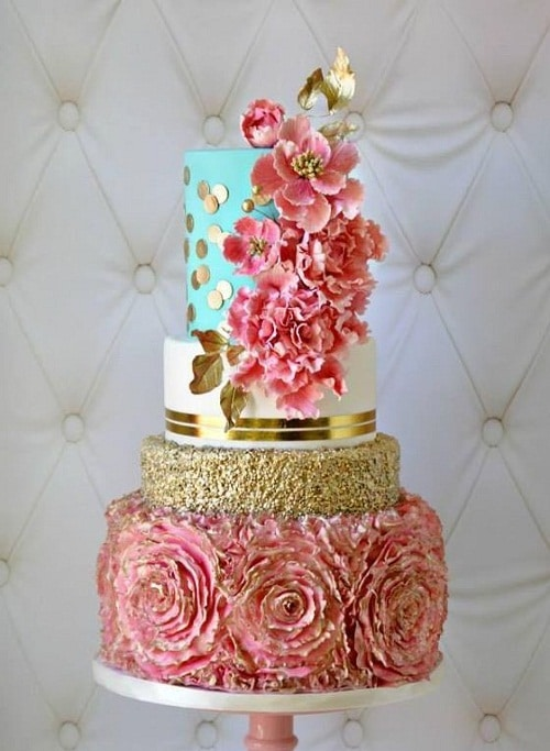 Cake Decoration Ideas Flowers