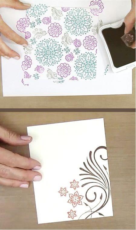 Stamps Scrapbook Ideas