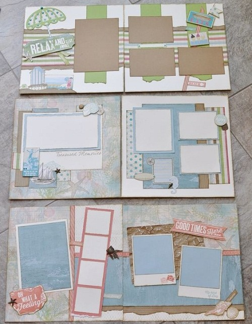 Sticky Notes Scrapbook Ideas